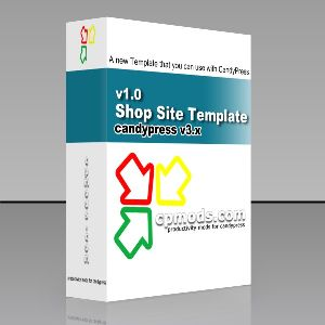 Candypress Shop Site Template